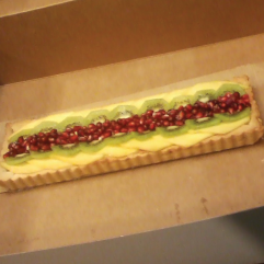 Fruit Tart with Custard Filling