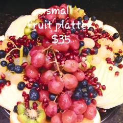 Small Fruit Platters