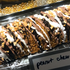 Peanut Chew Log